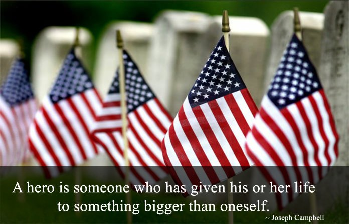 Memorial Day Quotes about Heros