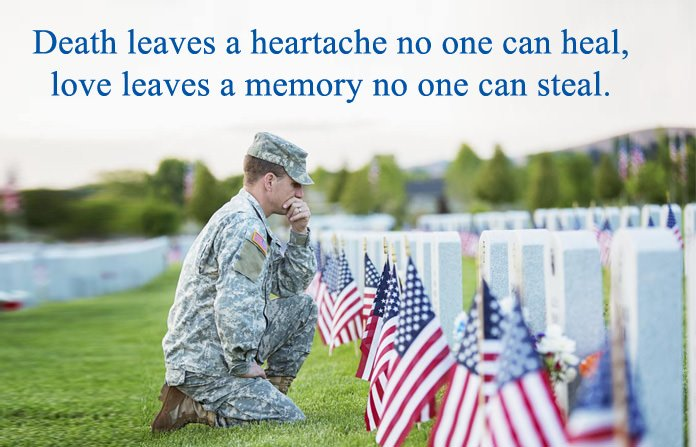 Memorial Day Remembrance Love Quotes
