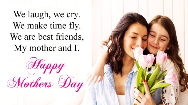 Mother Daughter Saying for Mom's Day