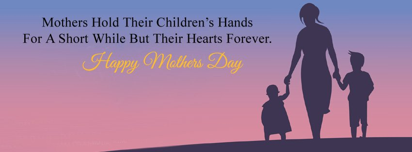 Mother Daughter Son Child FB Cover Pic