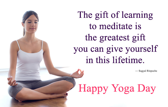 21st June Happy Yoga Day