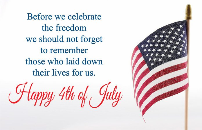 4th of July Wishes