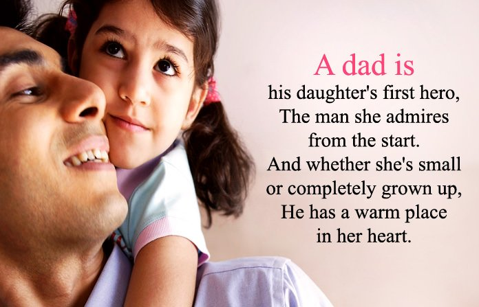 Cute Dad Poem From Little Girl