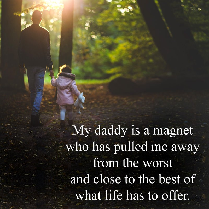 Daddy Images with Quotes from Girl
