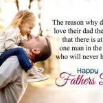 Cute Fathers Day Quotes From Daughter to Dad