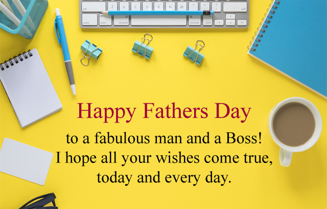 Fathers Day Wishes for Boss