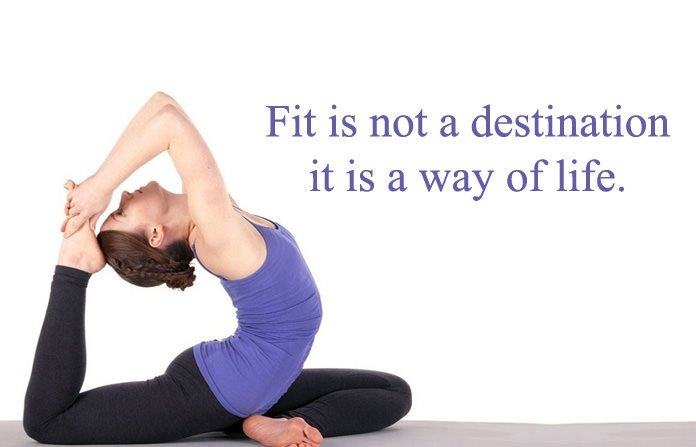 Fit Quotes on Yoga