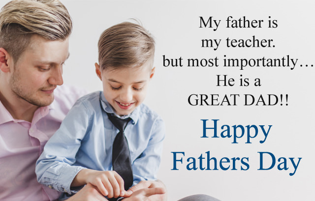 Great Dad Quotes from Kids on Father Day