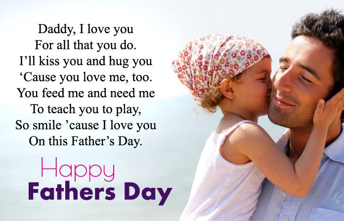 Happy Fathers Day Poem From Daughter
