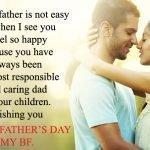 Happy Fathers Day to My Boyfriend