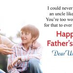 Happy Fathers Day Uncle