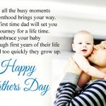 Happy First Fathers Day Congratulations Wishes