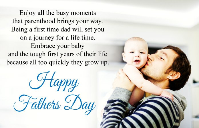 Happy First Fathers Day Quotes Congratulations Wishes Messages