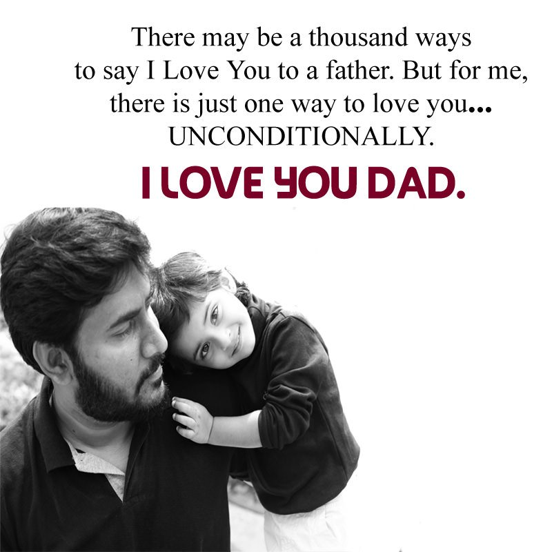 I Love You Dad Images Quotes