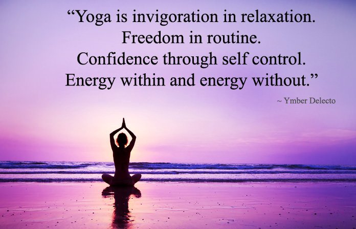 Inspirational Confidence Yoga Words Quotes