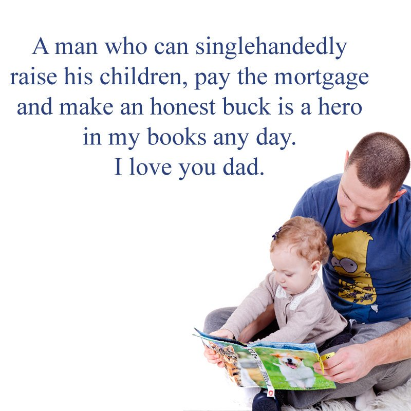 Inspirational Dad's Day Quotes Images