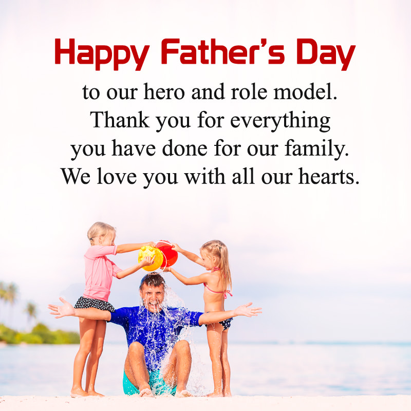 My Dad is My Hero Quote From Daughter