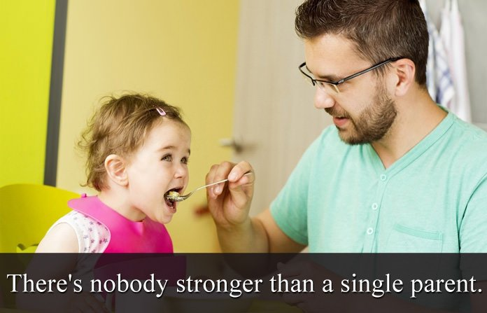 Single Dad Fathers Day Quotes