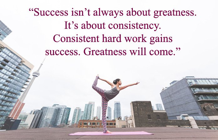 Success Quotes on Yoga