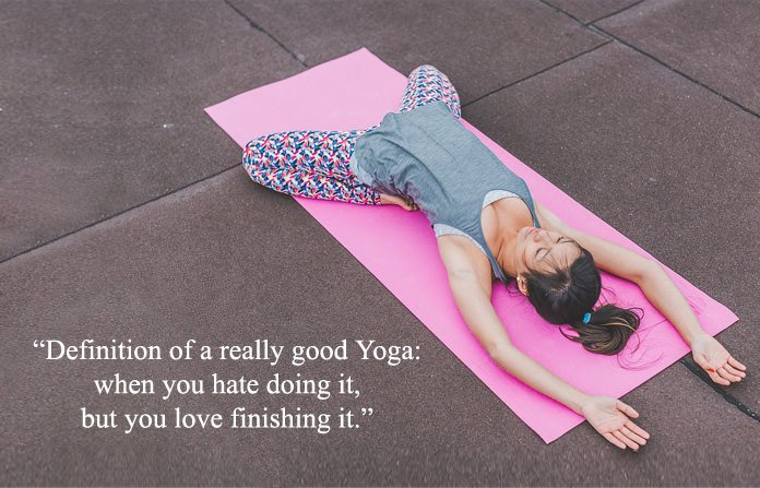 True Quote About Yoga