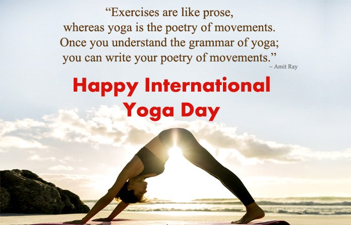 Image result for yoga day quotes