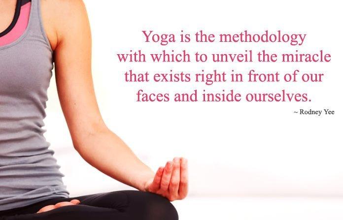 Yoga Just Like Miracle