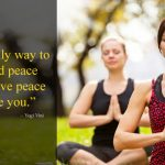 Yoga Peace Quotes