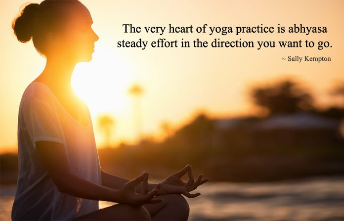 Yoga Practice Sayings