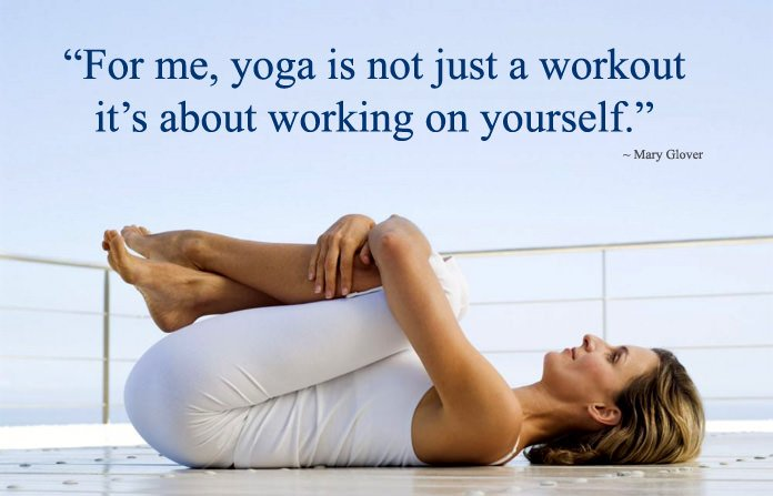 Yoga not just a workout