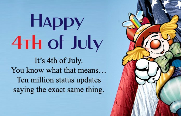 4th of July Sayings Funny