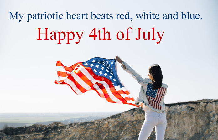 Fourth July Quotes about American Flag