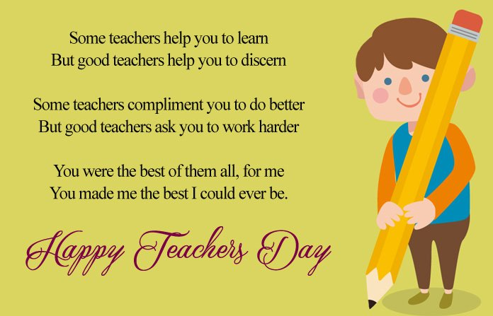 Teachers Day Special Poems