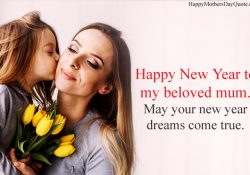 Happy New Year Quotes for Mom
