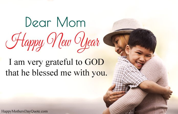 New Year Quotes for Mother