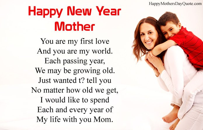 New Year Short Poem for Mother