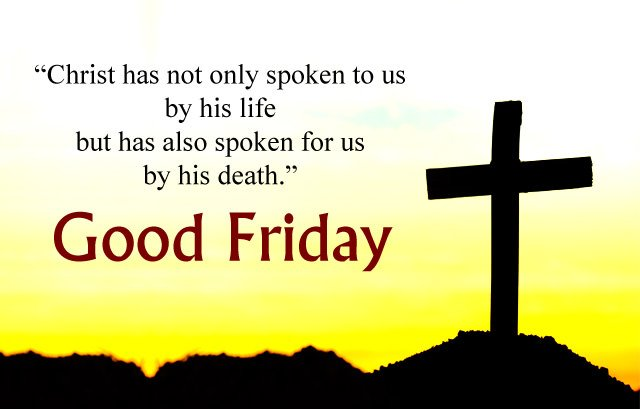 Good Friday Christ Quotes