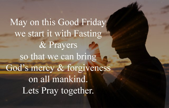 Good Friday Prayer