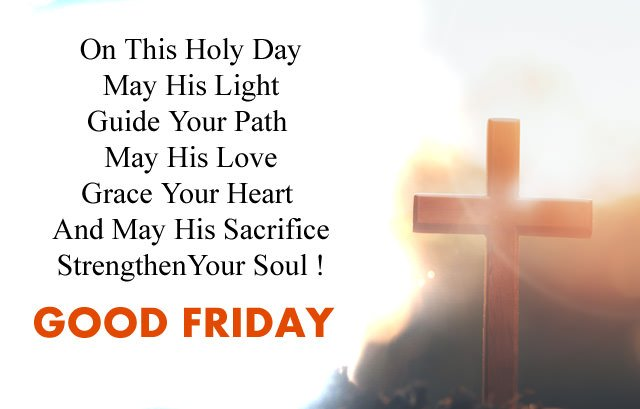 Sacrifice on Good Friday Quotations