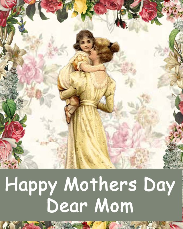 Beautiful Vintage Mothers Day Wishes