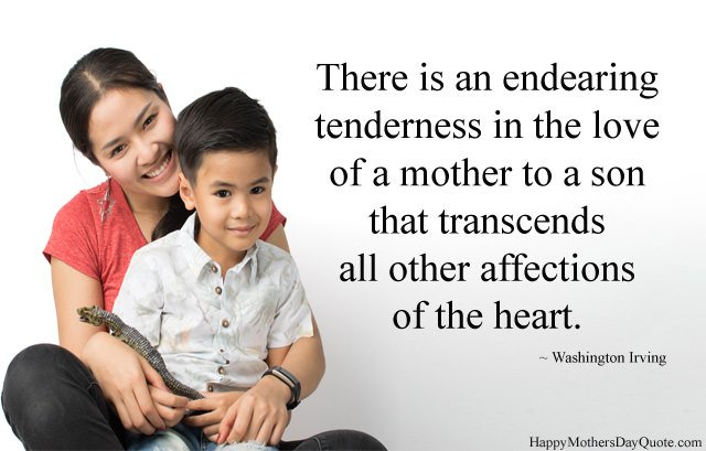 Best Lines about Mother and Son