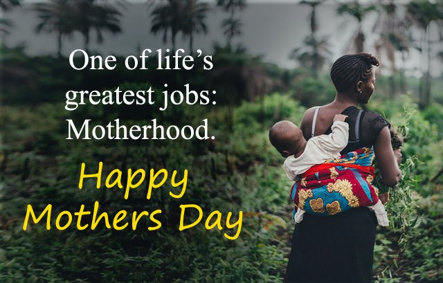 Black Motherhood Sayings Images