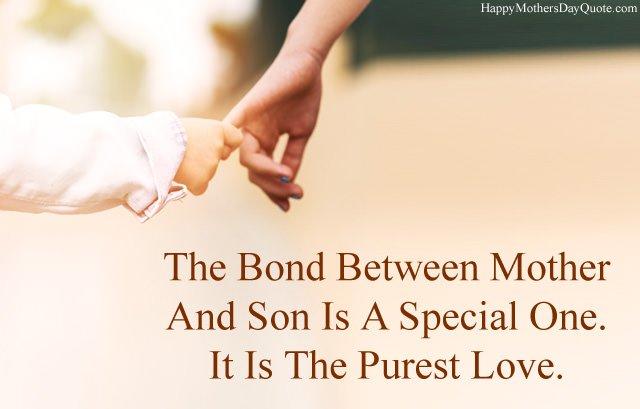 Bond Between Mother Son