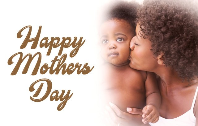 Cute Black Mom's Day Wallpaper