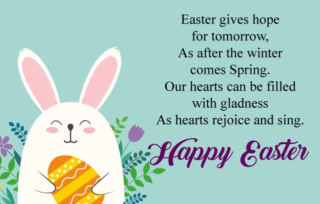 Cute Easter Day Wishes