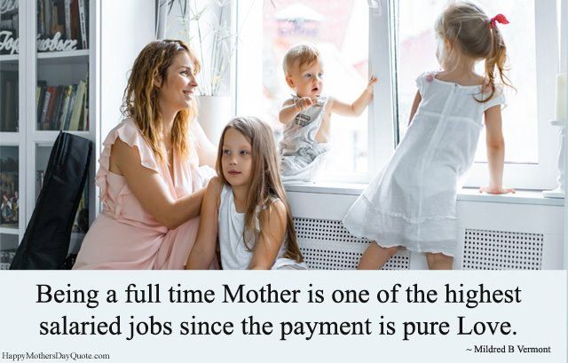 Full Time Mother - Highest Salaried Jobs