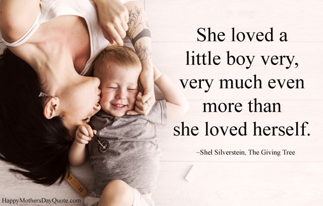 Mother Son Images with Quotes