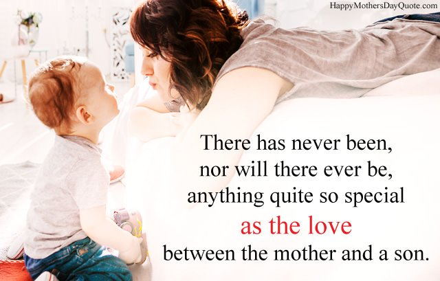 Mother and Son Bonding Quotes with Hd Images, Best