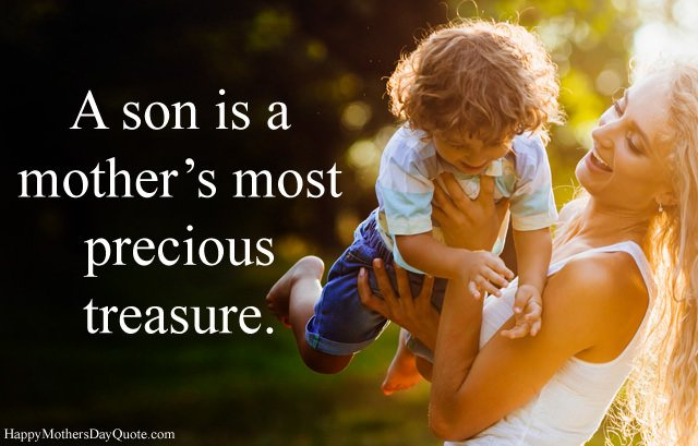 Mother Son Relationship Quotes