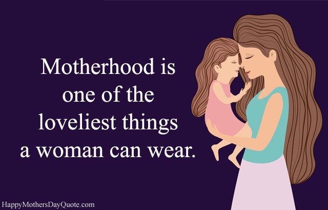 Motherhood Sayings Images
