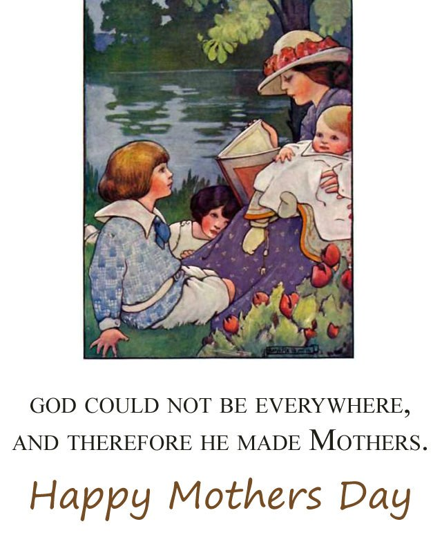 Mothers Day Quotes with Vintage Images